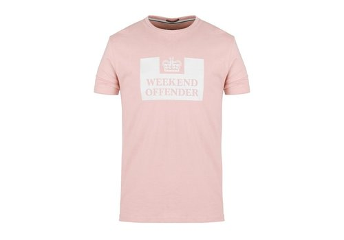 Weekend Offender Weekend Offender Prison logo t-shirt Tea rose
