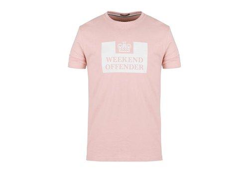 Weekend Offender Weekend Offender Prison logo t-shirt Tea rose