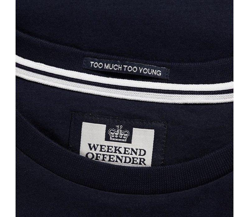 Weekend Offender Acid Casuals t-shirt Navy