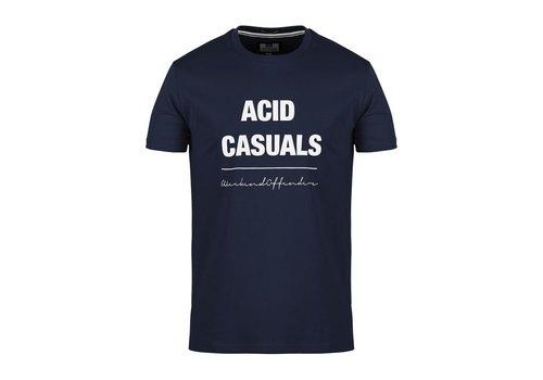 Weekend Offender Weekend Offender Acid Casuals t-shirt Navy