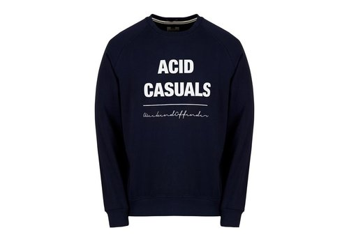 Weekend Offender Weekend Offender Acid Casuals sweatshirt Navy