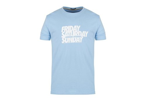 Weekend Offender Weekend Offender Friday Saturday Sunday t-shirt Bubble