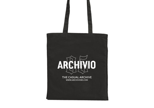 Archivio85 Archivio85 cotton tote bag Black
