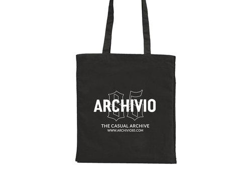 Archivio85 Archivio85 katoenen draagtas Black