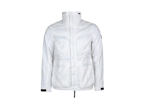 Marshall Artist Marshall Artist garment dyed field jacket White