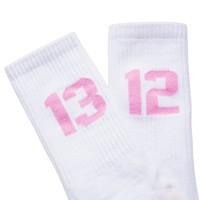 Sixblox. 1312 sokken White/Pink