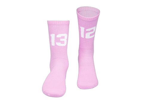 Sixblox. Sixblox. 1312 socks Pink/White