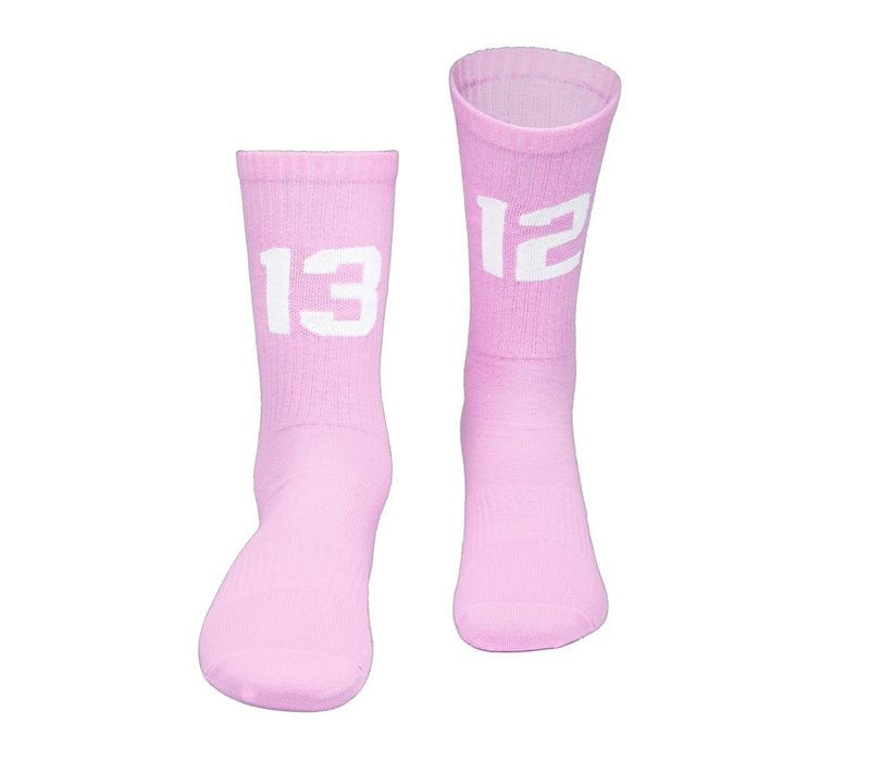 Sixblox. 1312 socks Pink/White