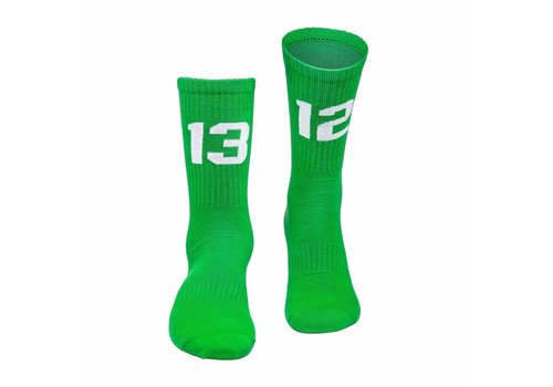 Sixblox. Sixblox. 1312 sokken Green/White