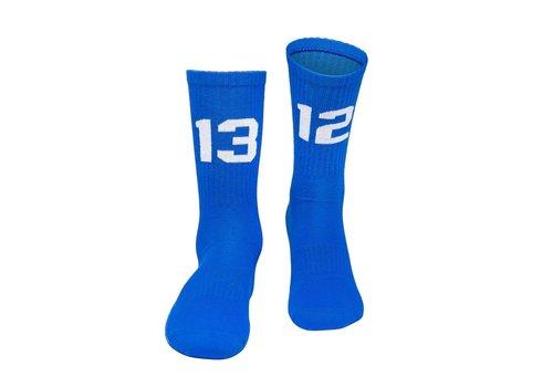 Sixblox. Sixblox. 1312 sokken Blue/White
