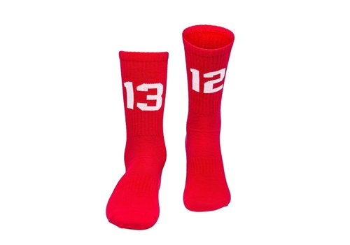 Sixblox. Sixblox. 1312 socks Red/White
