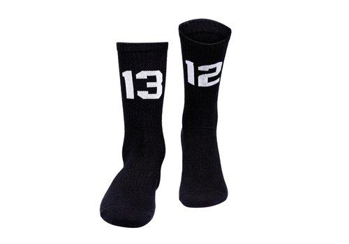 Sixblox. Sixblox. 1312 sokken Black/White