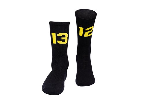 Sixblox. Sixblox. 1312 socks Black/Yellow