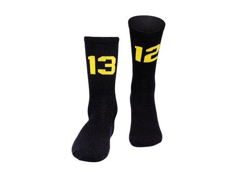Sixblox. Sixblox. 1312 sokken Black/Yellow