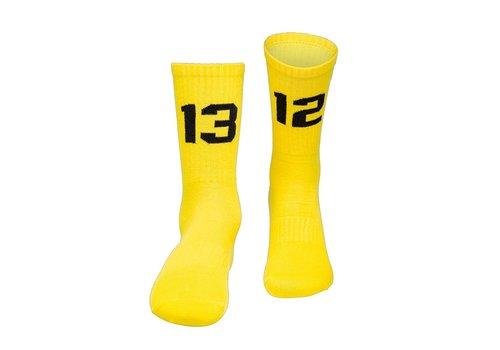 Sixblox. Sixblox. 1312 sokken Yellow/Black