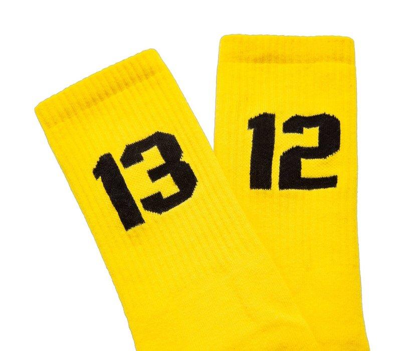 Sixblox. 1312 sokken Yellow/Black