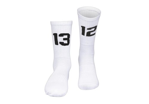 Sixblox. Sixblox. 1312 socks White/Black