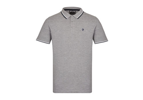 Lockhart Lockhart buckler tipped polo shirt Grey