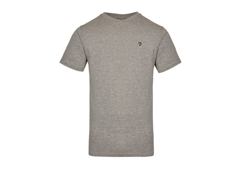 Lockhart Lockhart buckler button patch t-shirt Grey