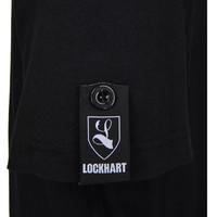 Lockhart buckler button patch t-shirt Black