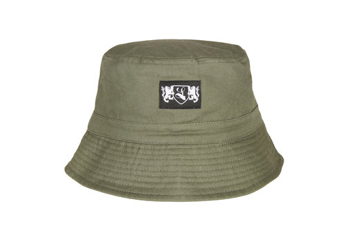 Lockhart Lockhart blazon bucket hat Olive