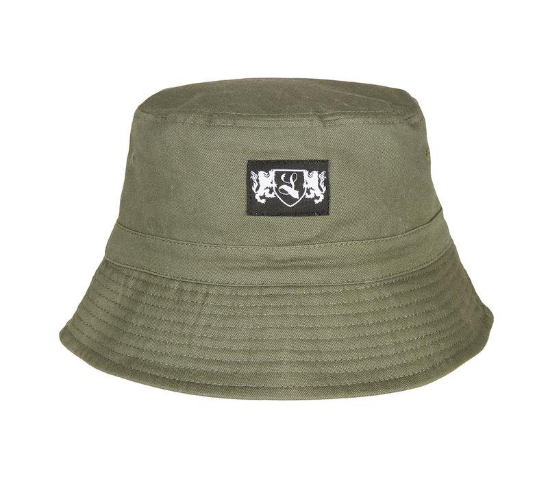 Lockhart blazon bucket hat Olive