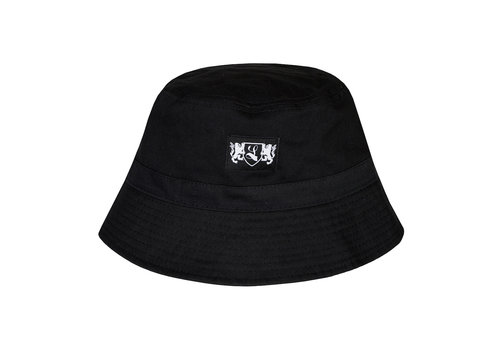 Lockhart Lockhart blazon bucket hat Black