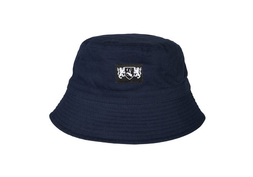 Lockhart Lockhart blazon bucket hat Navy
