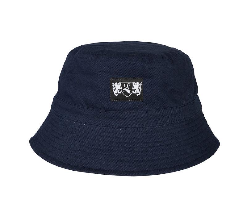 Lockhart blazon bucket hat Navy