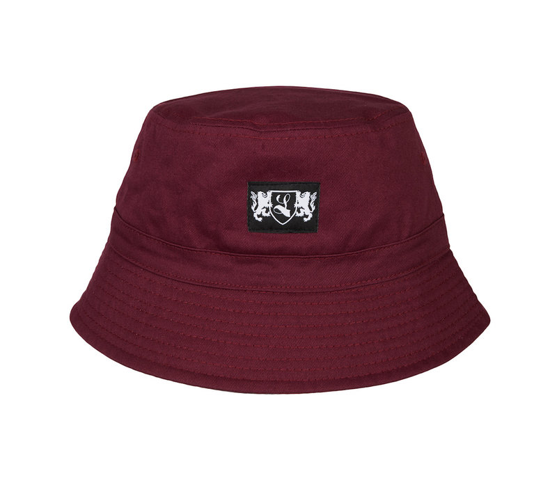 Lockhart blazon bucket hat Burgundy