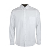 Aquascutum bevan classic oxford long sleeve shirt White