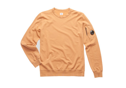 C.P. Company C.P. Company garment dyed light fleece lens crew sweatshirt Topaz