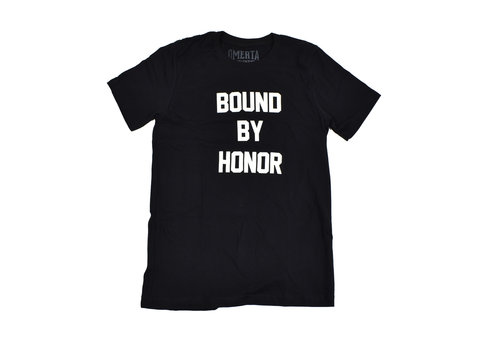 Omerta Omerta bound by honor t-shirt Black