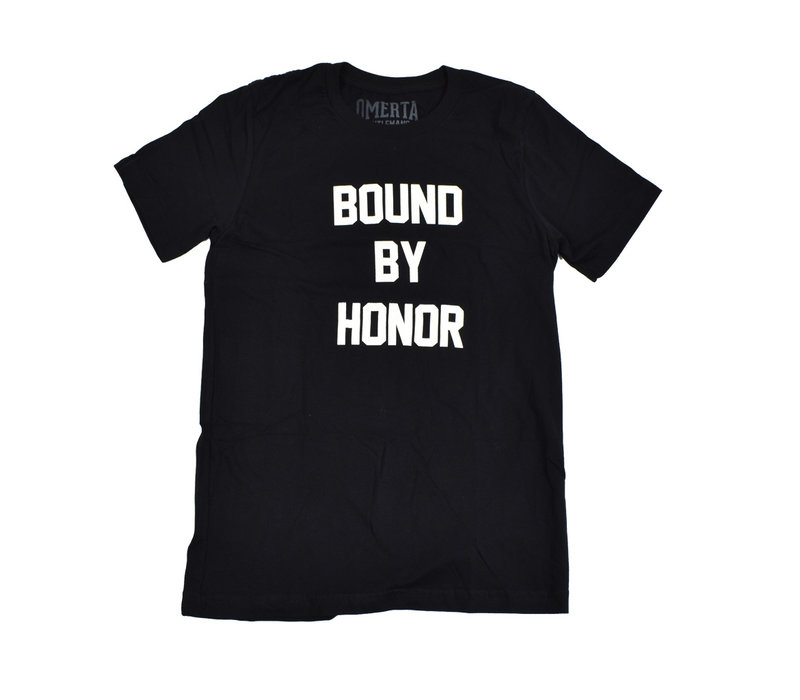 Omerta bound by honor t-shirt Black