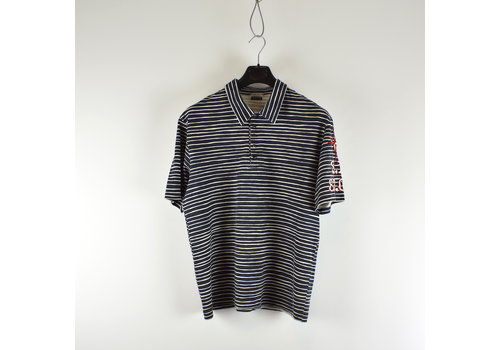 Stone Island Stone Island striped 83.03_20th anniversary collection polo shirt XL