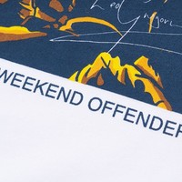 Weekend Offender Leo Gregory t-shirt White