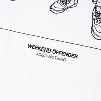 Weekend Offender Salvatore t-shirt White