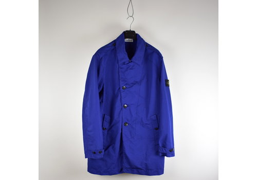 Stone Island Stone Island blue david-tc trench coat XXXL
