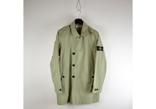 Stone Island Stone Island beige 3l performance cotton trench coat XXXL