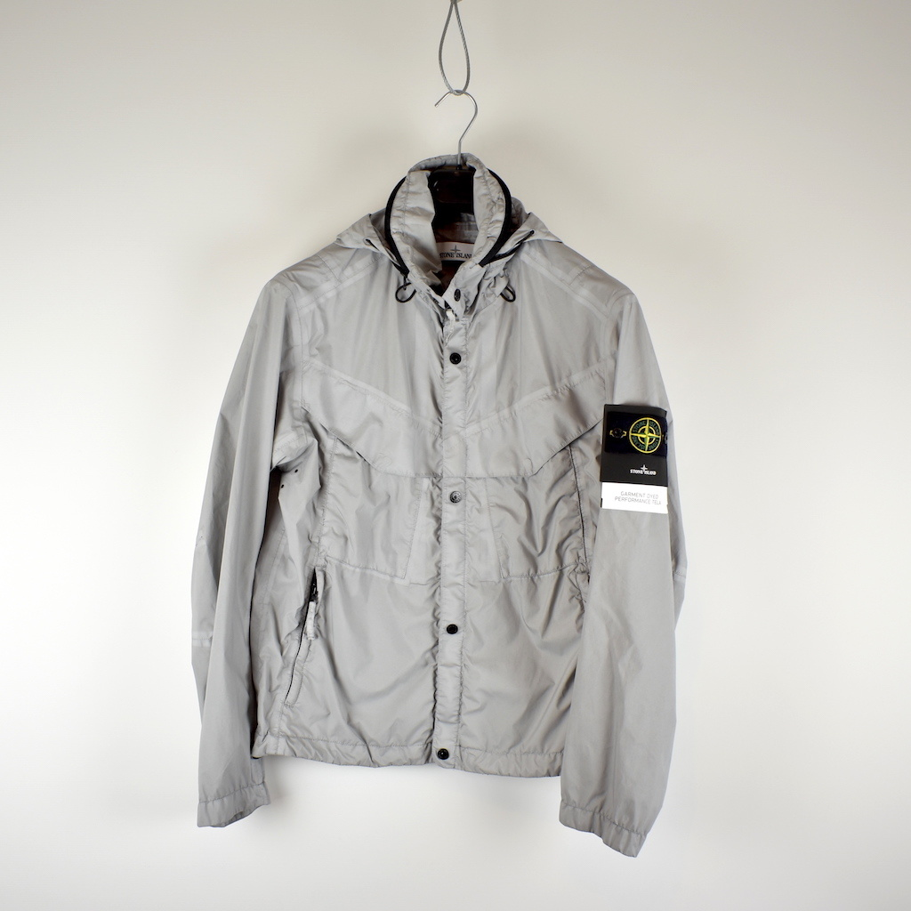 outlet store 23c93 a291c Stone Island grey gd performance tela jacket