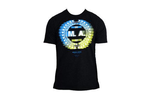 Marshall Artist Marshall Artist molecular ss t-shirt Black