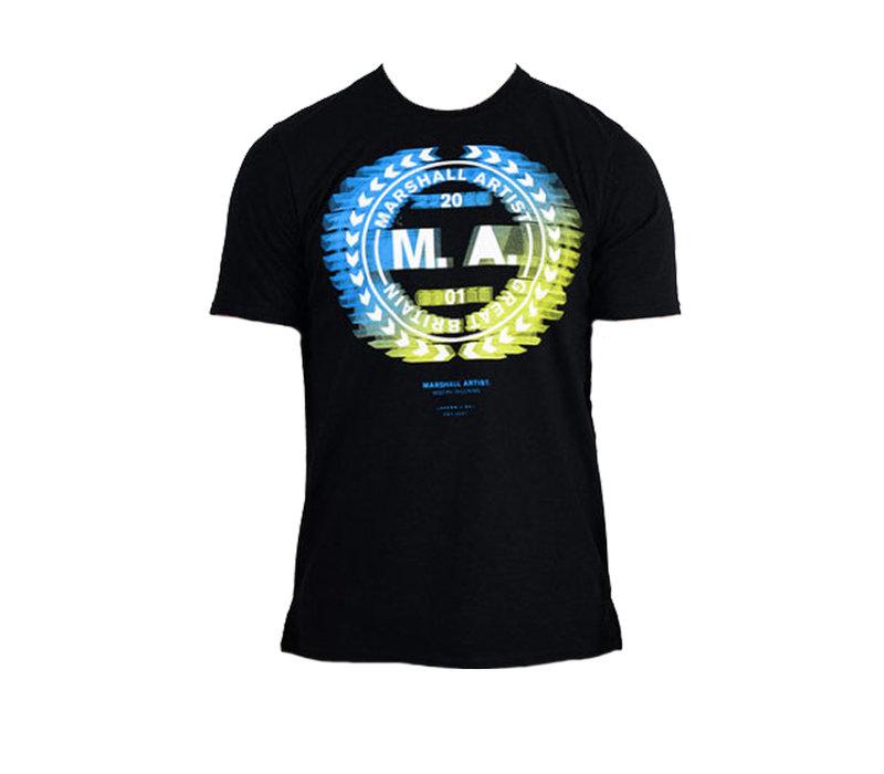 Marshall Artist molecular ss t-shirt Black