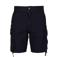 Marshall Artist garment dyed cotton short Washed navy