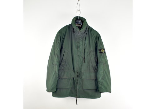 Stone Island Stone Island green double mesh lined jacket XL