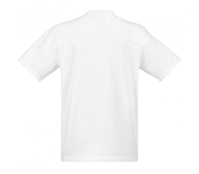 MA.STRUM relaxed fit gd tee Optic white