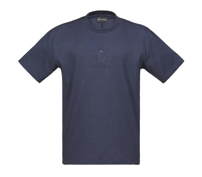 MA.STRUM relaxed fit gd tee True navy