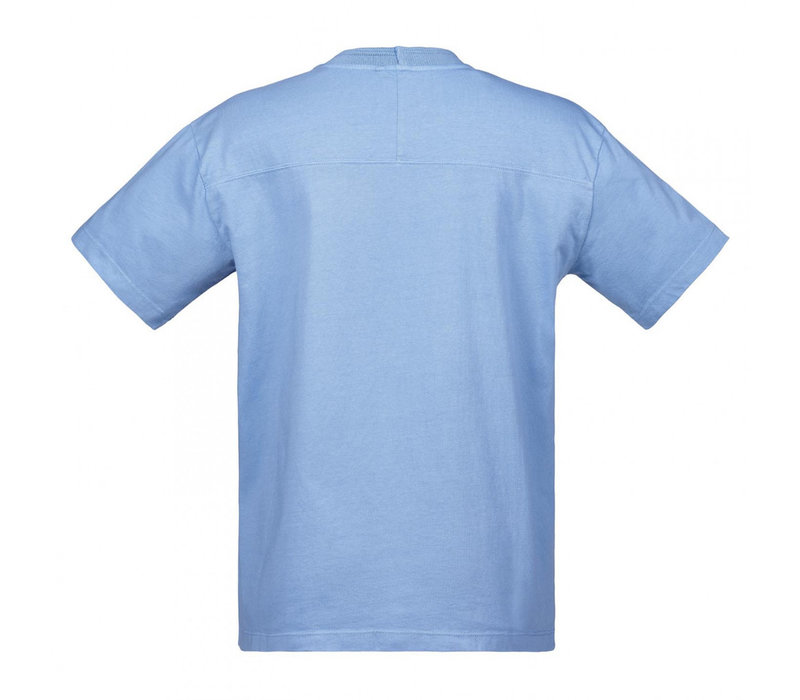 MA.STRUM relaxed fit gd tee Dutch blue