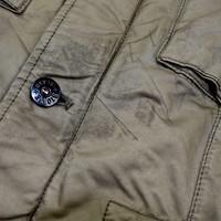Stone Island brown david-tc field jacket XXL