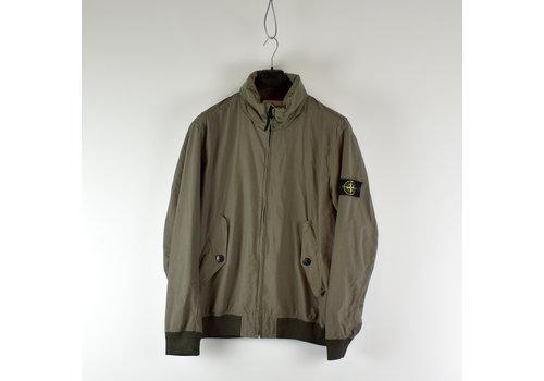 Stone Island Stone Island grey light cotton nylon twill jacket XXL
