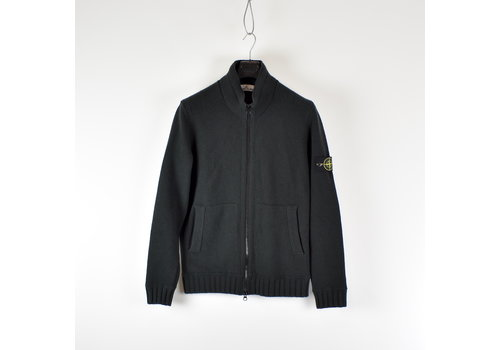 Stone Island Stone Island green full zip knit XL